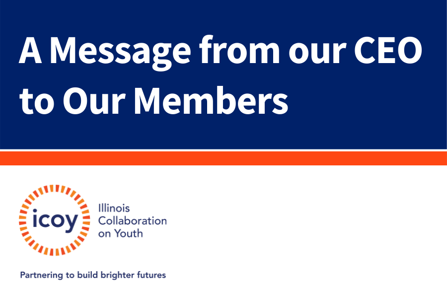 A Message from our CEO to Our Members
